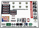 Precut-Replica-Sticker-for-Lego-Set-6598-Metro-PD-Station-(1996)