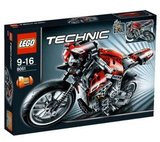 Lego 8051 - Motorbike (2010)_