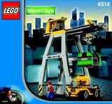 Precut Replica Sticker for Lego Set 4514 - Cargo Crane (2003)_