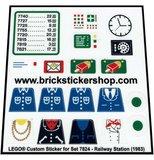 Lego 7824 - Railway Station (1983)_