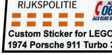 MOC 1974 Porsche 911 Turbo 3.0 (Dutch Police)_