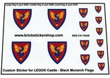 Black Monach Flags_