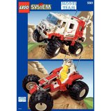 Precut Replica Sticker for Lego Set 5561 - Big Foot 4x4 (1997)_