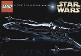 Precut Custom Replacement Stickers for Lego Set 7191 - X-wing Fighter (UCS)(2000)_