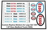Set 1251 - 1-87 Esso Bedford Truck (1955) Sticker