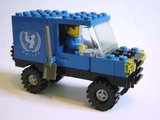 Precut Replica Sticker for Lego Set 106 - UNICEF Van (1985)_