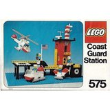 Precut Custom Replacement Stickers for Lego Set 575 - Coastguard Station (US Version) (1978)_