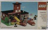 Precut Custom Replacement Stickers for Lego Set 590 - Engine Co. No. 9 (1978)_
