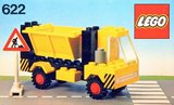 Precut Replica Sticker for Lego Set 622 - Tipper truck (1978)_