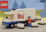 Lego 1581 - Delivery Truck - Arla (1991)_