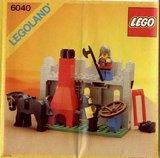 Precut Replica Sticker for Lego Set 6040 - Blacksmith Shop (1984)_