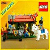 Precut Replica Sticker for Lego Set 6041 - Armor Shop (1986)_