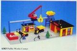 Precut Replica Sticker for Lego Set 6383 - Public Works Center (1981)_
