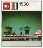 Precut Replica Sticker for Lego Set 1550 - Sterling Super Caravelle (1972)_