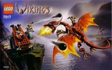 Precut Custom Replacement Stickers for Lego Set 7017 - Viking Catapult versus the Nidhogg Dragon (2005)_
