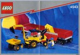 Lego 4543 - Railroad Tractor Flatbed (1991)_