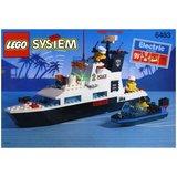 Precut Custom Replacement Stickers for Lego Set 6483 - Coastal patrol (1994)_
