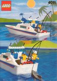 Precut Replica Sticker for Lego Set 4011 - Cabin Cruiser (1991)_