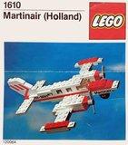 Precut Replica Sticker for Lego Set 1610 - Martinair Cessna (1978)_