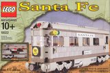 Lego 10022 - Santa Fe Cars - Set II (dining, observation, or sleeping car) (2002)_