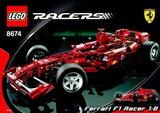 Lego 8674 - Ferrari F1 Racer 1:8 (2006)_