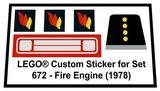Lego 672 - Fire Engine (1978)_