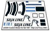 Lego 1581 - Silja Line Ferry (1981)_