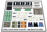 Lego 4511 - High Speed Train (2003)_