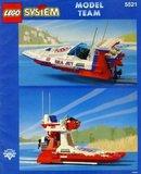 Precut Replica Sticker for Lego Set 5521 - Sea Jet (1993)_