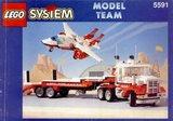 Precut Replica Sticker for Lego Set 5591 - Mach II Red Bird Rig (1994)_