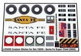 Lego 10020 - Santa Fe Super Chief (2002)_