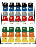LEGO PART 24491 Sticker Sheet for 60116-1   Rebrickable ...   Lego Space Sticker Sheets