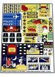 Precut Replica Sticker for Lego Set 6000 - LEGOLAND Idea Book (1980)_