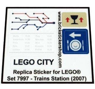Lego 7997 - Train Station (2007)