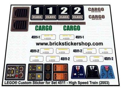 Lego 4511 - High Speed Train (2003)
