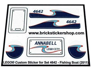 Lego 4642 - Fishing Boat (2011)