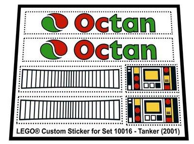 Lego 10016 - Tanker (2001)