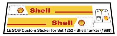 Lego 1252 - Shell Tanker (1999)