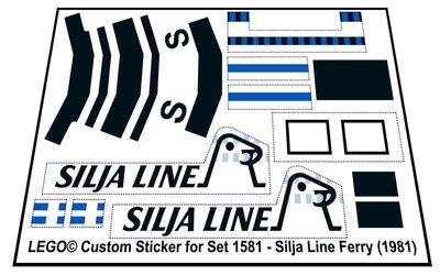 Lego 1581 - Silja Line Ferry (1981)