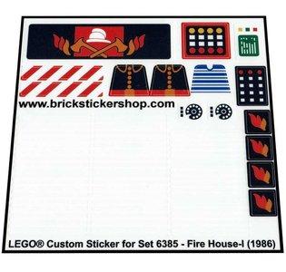 Lego 6385 - Fire House-I (1986)