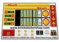 Lego-1256-Shell-Petrol-Pump-(1999)