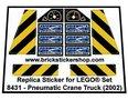 Lego-8431-Pneumatic-Crane-Truck-(2002)