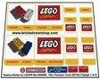 Precut-Replica-Sticker-for-Lego-Set-4000008-Villy-Thomsen-Truck-(2013)