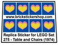 Replica-Sticker-for-Lego-Set-275-Table-and-Chairs-(1974)