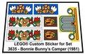 Lego-3635-Bonnie-Bunnys-Camper-(1981)