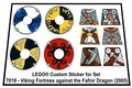 Precut-Replica-Sticker-for-Lego-Set-7019-Viking-Fortress-against-the-Fafnir-Dragon-(2005)